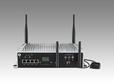 ARK-2151S-S9A1E PC industriel fanless, Intel Core i5 4300U DC 1.9 GHz for S Series