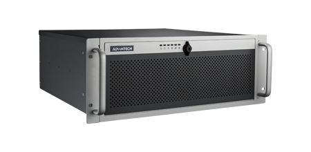 """ACP-4340BP-40ZE Châssis silencieux 4U 400W pour PC rack 19"""" PICMG1.0 et 1.3 et 4 disques extractibles"""