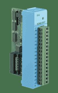ADAM-E5017-AE Module ADAM Entrée/Sortie sur bus de terrain, 8 entrées analogiques sur EtherCAT