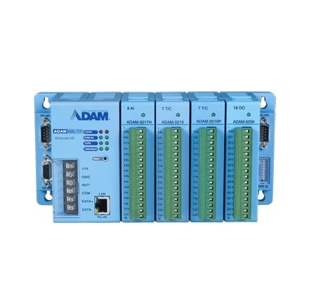 ADAM-5000L/TCP-BE Station d'acquisition de données ADAM, 4-Slot Ethernet-based Distributed DA&C System