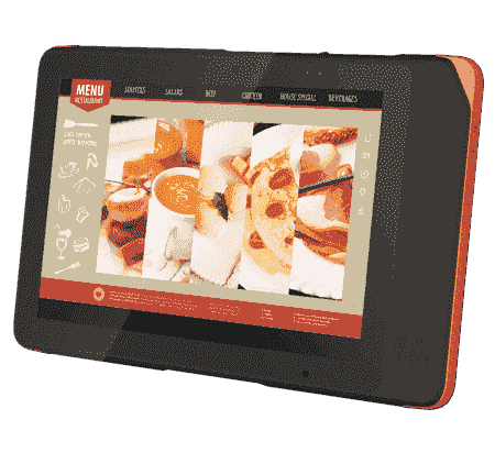"AIM-37AC-S0GR1110 Tablette durcie 10"" Android pour les points de vente (PoS)"