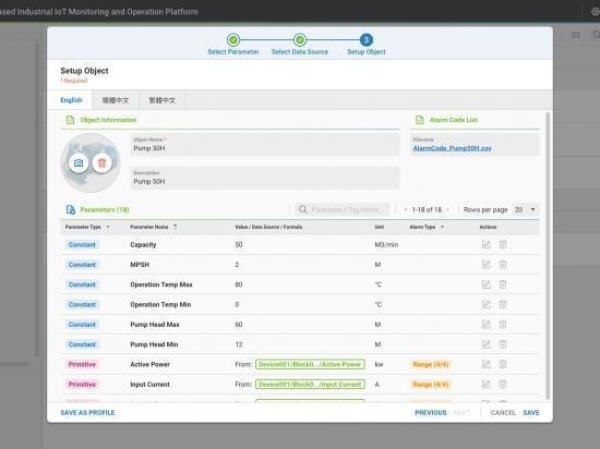 WISEPAASMPLUS Wise-Paas M+ Platforme de gestion IIoT