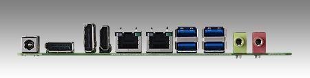 AIMB-231G2-U7A1E Carte mère industrielle, DC miniITX Broadwell-U i7-5650 eDP/DP/DP++
