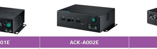 ACK-A004E-02A1E Châssis fanless pour carte mère MIO-5250
