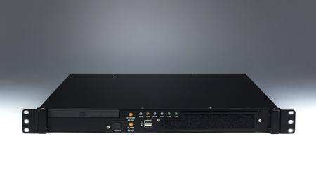 """ACP-1010BP-00BE Châssis pour PC rack 19"""" à bus passif, 1U sans BP sans alimentation Flex ATX"""