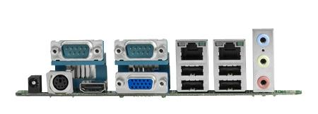 AIMB-223G2-S1A1E Carte mère industrielle, AMD eOntario DC1.0GHz MINI ITX.VGA.HDMI.LVDS.2Gb