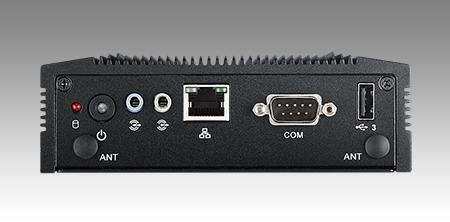 ARK-10-U0A1E PC industriel fanless, Atom QC J1900 2.0GHz w/2G RAM 500G HDD
