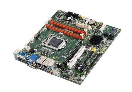AIMB-503L-00A1E Carte mère industrielle, MicroATX with VGA/DVI 2COM/9 USB/single LAN