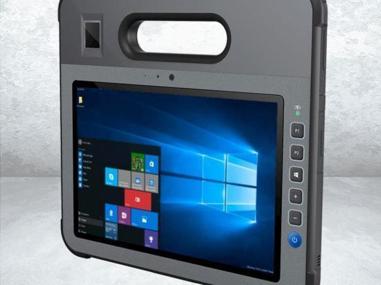 """CW-F10 Tablette durcie 10"""" avec poignée intégrée"""