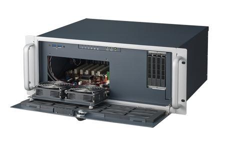 """ACP-4020BP-00XE Châssis 4U pour PC rack 19"""" PICMG demi longueur profondeur 398mm seulement"""