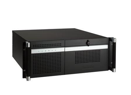 """ACP-4320MB-40BE Châssis silencieux 4U 400W pour PC rack 19"""" avec carte mère ATX/MATX et 2 disques extractibles"""