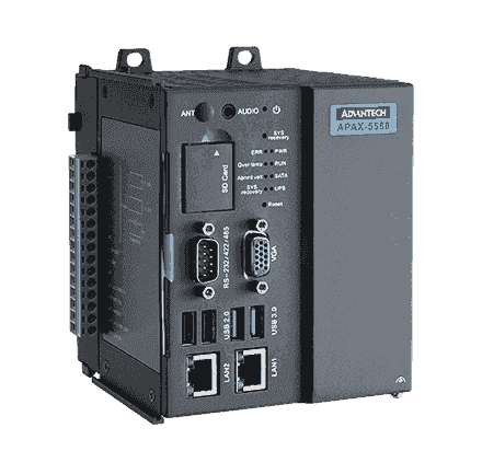 APAX-5580-433AE Automate industriel modulaire, PC-based Controller w/ Core i3