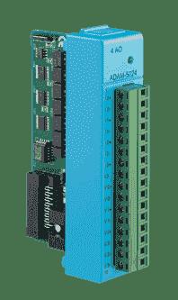 ADAM-E5024-AE Module ADAM Entrée/Sortie sur EtherCAT, 4 sorties analogiques