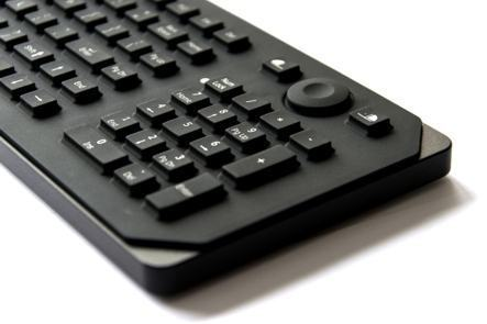 RKMB105S33USB Clavier industriel compact 105 touches avec clavier numérique et souris à poser sur table IP65 AZERTY