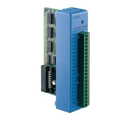 ADAM-5056SO-AE Carte d'acquisition pour ADAM série 5000, 16 sorties numériques source isolées avec LED