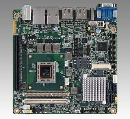 AIMB-226G2-00A1E Carte mère industrielle, miniITX RX-427BB HDMI/LVDS/DP++/6COM/2Gb