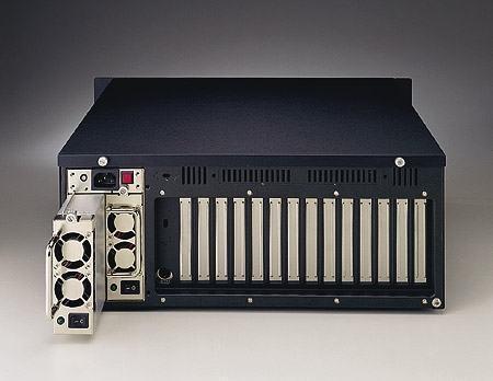 """ACP-4000MB-40CE Châssis silencieux 4U 400W pour PC rack 19"""" à carte mère ATX/MATX"""