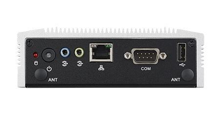 ARK-1123H-U0A1E PC industriel fanless, Intel Celeron QC J1900 2.0GHz w/dual HDMI+GbE