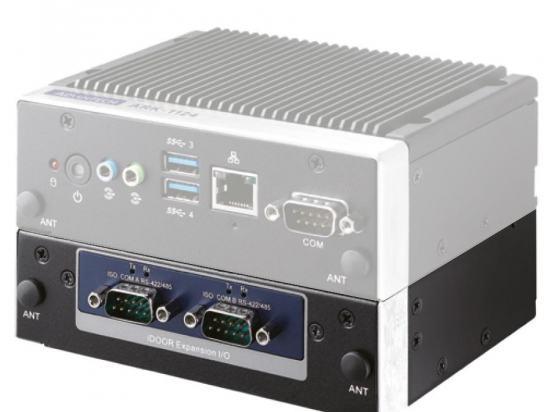 ARK-1124H-S6A3 Mini PC Fanless modulaire pour Intel® Atom™ E3940 QC double HDMI, Double ethernet et 4 ports USB