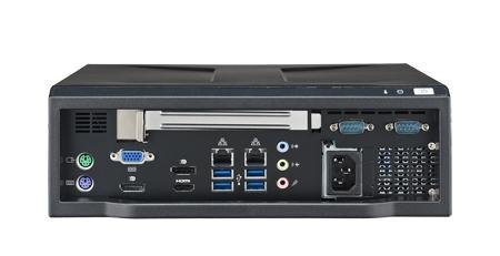 AIMC-2100-00A1E Micro PC industriel, Micro Computer, i7/i5/i3 CPU,1 Exp. 250W PSU