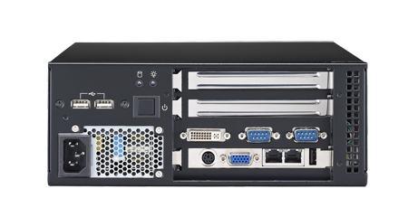 AIMC-3200-00A1E Micro PC industriel, Micro Computer, i7/i5/i3 CPU,2 Exp. 250W PSU