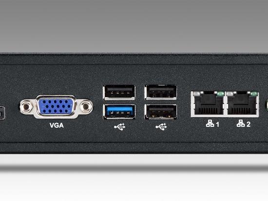 AIMB-T1215DW-00Y0E PC industriel fanless, AIMB-T1000W w/AIMB-215D, fanless, w/ADPT