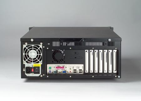 """ACP-4320BP-40BE Châssis silencieux 4U 400W pour PC rack 19"""" PICMG1.0 et 1.3 et 2 disques extractibles"""
