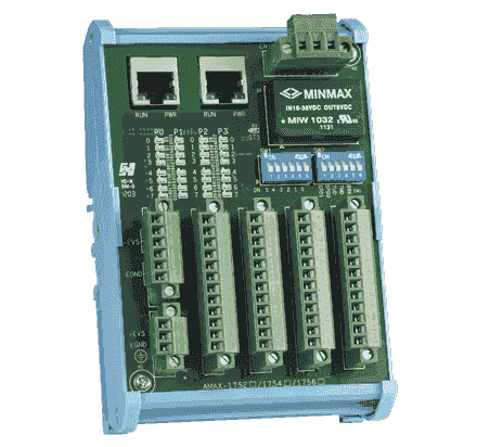 AMAX-1756-AE Module E/S Open Frame 16-ch Isolated DI/16-ch DO Module