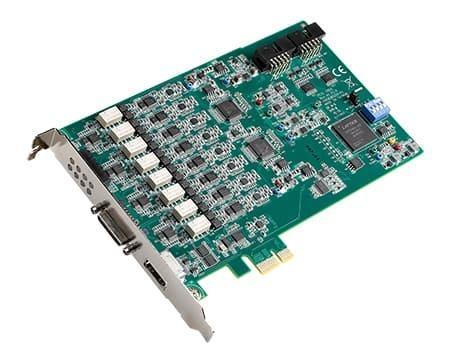PCIE-1803 Carte d'acquisition PCIe 8 entrées analogiques pour son et vibrations