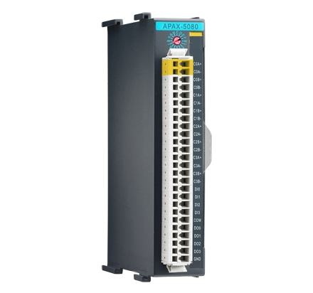 APAX-5080-AE Automate industriel modulaire, 4/8-ch High Speed Counter Module