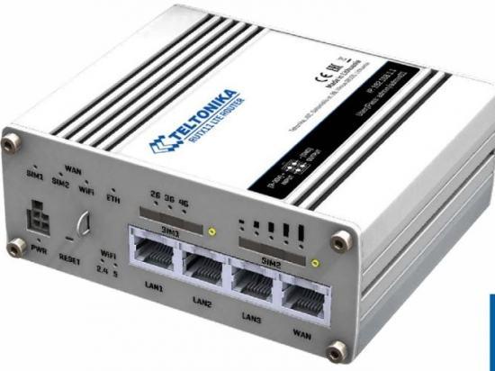 RUTX11 Routeur 4G et WiFi Wave2 - Bluetooth avec 4 ports WAN