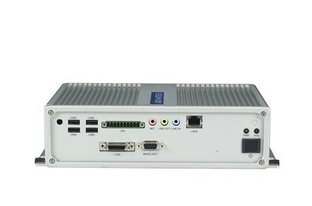 ARK-3360F-D5A1E PC industriel fanless, Atom D510,VGA+3GLAN+6COM+6USB+mPCIe+miniPCI
