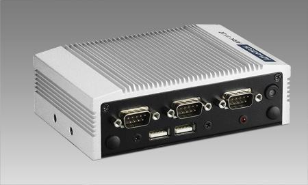 ARK-1122C-S6A1E PC industriel fanless, Intel Atom N2600 1.6GHz w/4COM+4USB+LAN