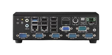 AIMC-2000J-HDA1E PC industriel fanless, Fanless system , J1900