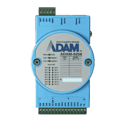 ADAM-6256-B Module ADAM 16 canaux isolés en sortie Modbus TCP