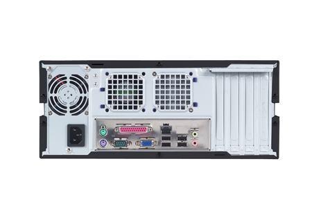 AIMB-C600-00B1E Châssis industriel économique pour carte mère Mini ITX, Wallmount Châssis industriel économique pour carte mère Mini ITX for MicroATX MB, Black outlook