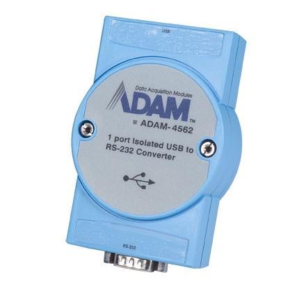 ADAM-4562-AE Convertisseur USB vers RS-232 sur SubD 9 points isolé 2500V