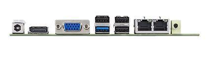 AIMB-215L-S6B1E Carte mère industrielle, ATOM Baytrail QC J1900 MINI-ITX. VGA,DP,1GbE