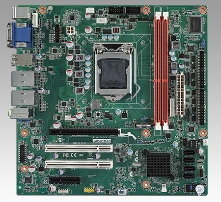 AIMB-501G2-CWA1E Carte mère industrielle, MicroATX with Dual VGA/ 10 COM/10 USB/VGA always