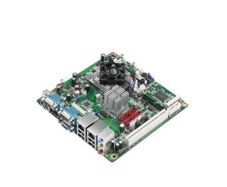 AIMB-223G2-S0A1E Carte mère industrielle, AMD eOntario SC1.2GHz MINI ITX.VGA.HDMI.LVDS.2Gb