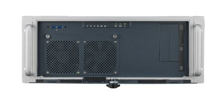 """ACP-4020MB-00XE Châssis 4U pour PC rack 19"""" carte mère ATX/MATX profondeur 398mm seulement"""