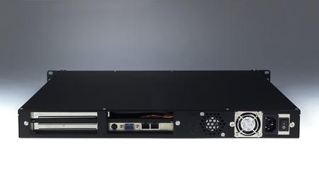 """ACP-1010MB-00CE Châssis 1U pour PC rack 19"""", ACP-1010MB avec carte de contrôle intelligente"""