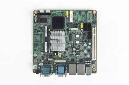 AIMB-212N-S6A1E Carte mère industrielle, ATOM N450 1.6G MINI ITX w/VGA,LVDS,2GbE,6COM