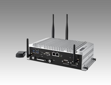 ARK-2151V-S9A1E PC industriel fanless, Intel Core i5 4300U DC 1.9 GHz  w/4 POE