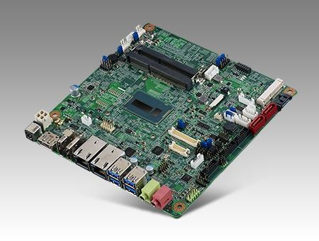 AIMB-231G2-U5A1E Carte mère industrielle, DC miniITX Broadwell-U i5-5350 eDP/DP/DP++