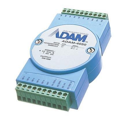 ADAM-4050-DE Module ADAM 4050 sur port série RS485, 15-Ch DI/O Module