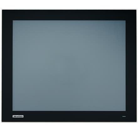 """FPM-217-R8AE Ecran industriel 17"""" tactile résistif IP66 true flat, VGA + HDMI + DP"""
