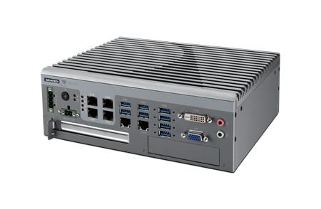 AIIS-5410P-U0A1E PC industriel pour application de vision, AIIS-5410 Fanless system, i7-6822EQ 2.0GHz,DDR4G