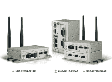 UNO-2271G-E22BE PC Fanless Atom 4Go RAM, 32Go SSD, 2xLAN, 1x HMDI, 4 x USB