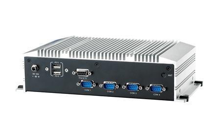 ARK-2120L-S6A1E PC industriel fanless, Atom N2600 1.6GHz w/ HDMI+VGA+2*GbE+4*COM+6*USB